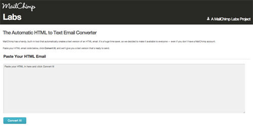 mailchimp-html-to-text