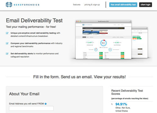 sendforensics-email-deliverability