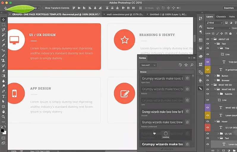Add google fonts to photoshop with fontea photoshop plugin ccuart Images