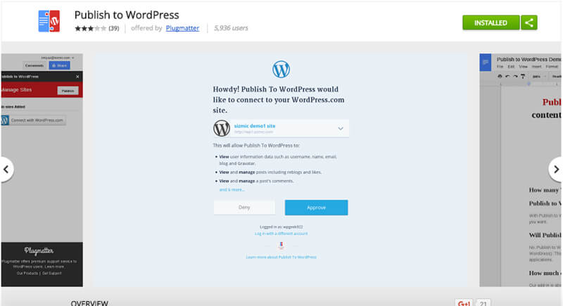 Publish-to-WordPress
