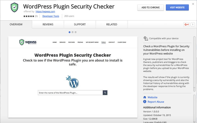 WordPress-Plugin-Security-Checker