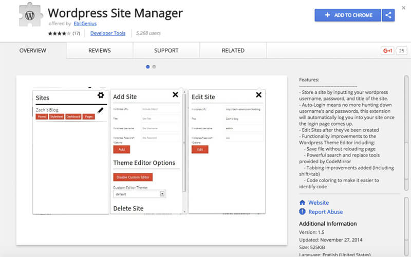 WordPress-Site-Manager