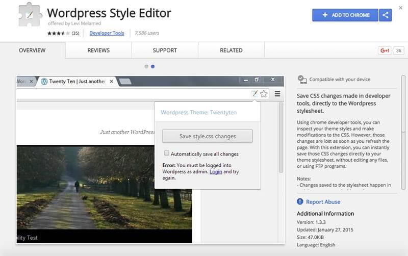 WordPress-Style-Editor