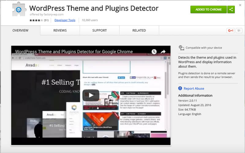 WordPress-Theme-and-Plugin-Detector